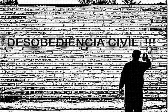 Desobediência civil contra o golpe